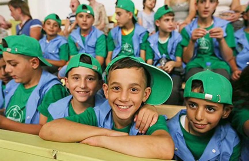 Беларусь организует оздоровление и спортивные сборы для детей из Сирии