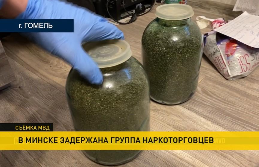 Криминальная группа наркоторговцев задержана в Минске