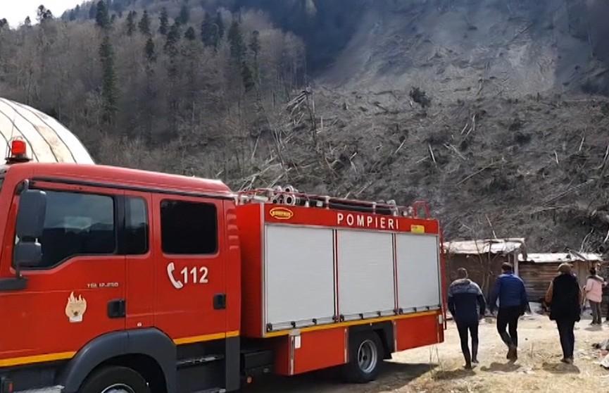 В Румынии сошел массивный оползень