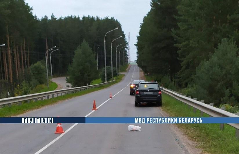Легковая машина переехала пенсионерку, которая лежала на дороге в Минском районе