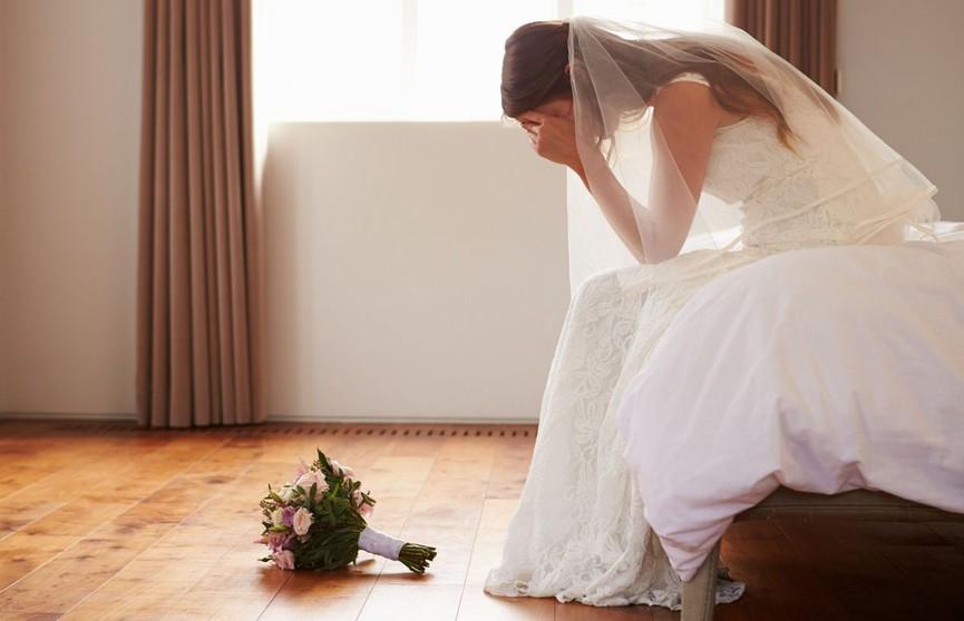 Молодожёны расстались через 2 часа после свадьбы
