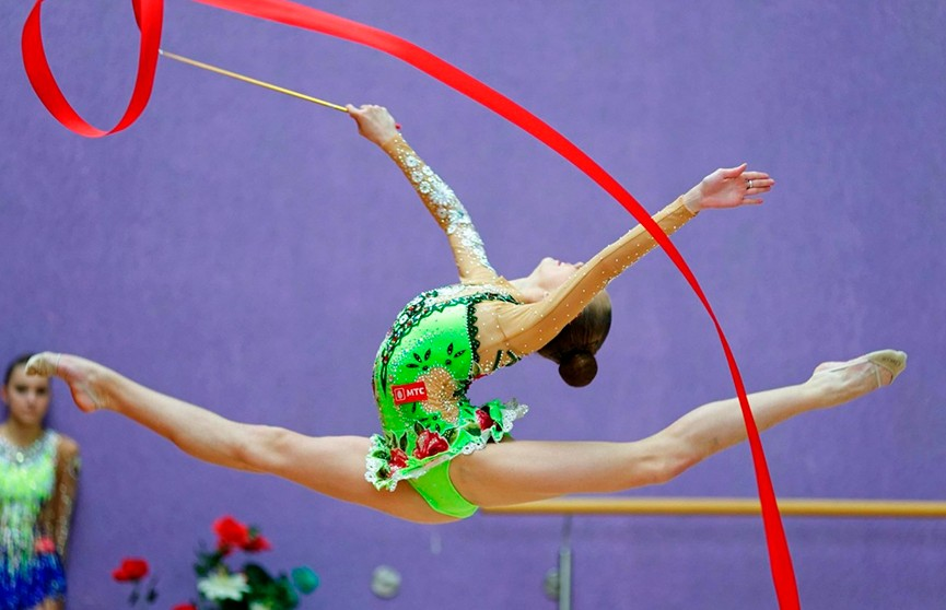 Чемпионат мира по художественной гимнастике-2018: белоруска Анастасия Салос вышла в финал соревнований с лентой