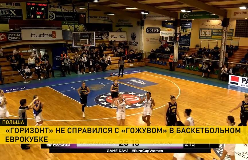 «Горизонт» неудачно выступает на групповом этапе женского баскетбольного Еврокубка