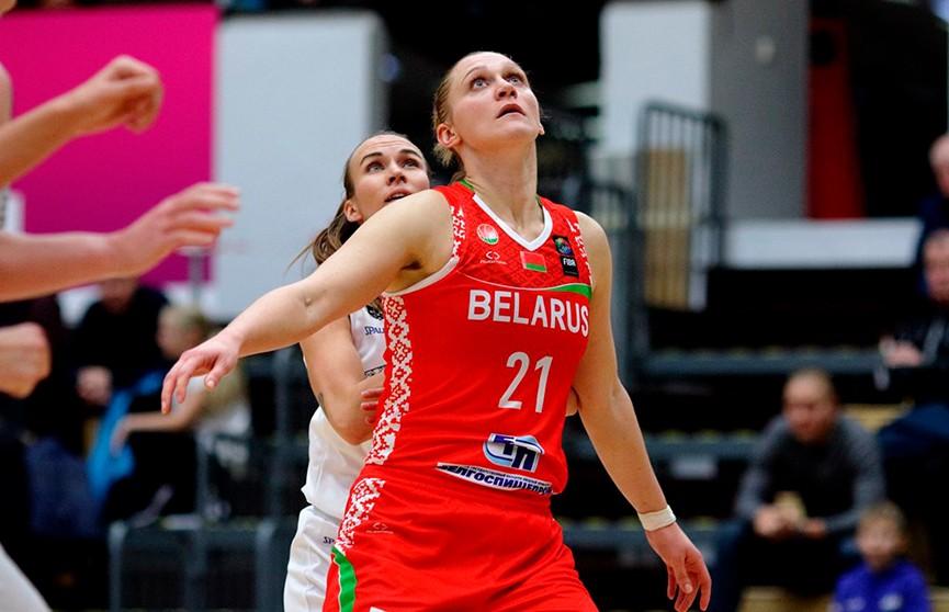 Баскетболистки сборной Беларуси обыграли соперниц из Латвии на международном турнире в Риге