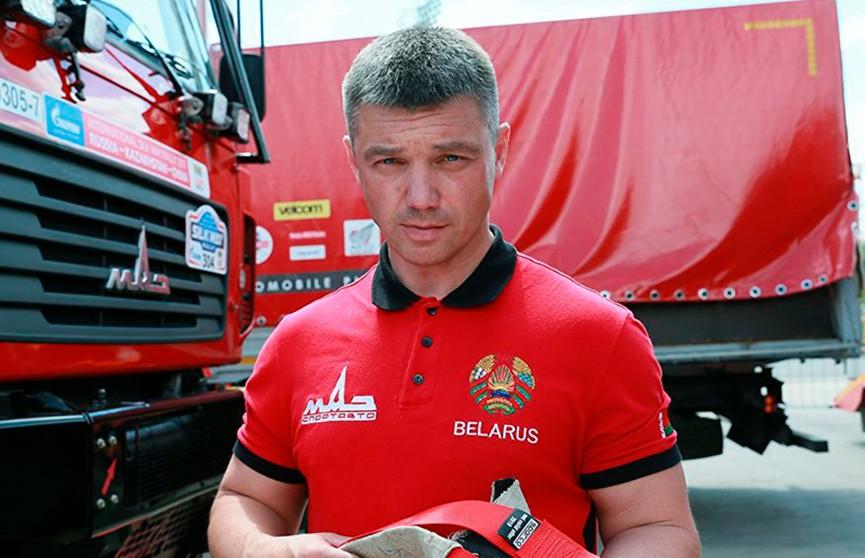 Экипаж Сергея Вязовича выиграл первый этап ралли «Шелковый путь»