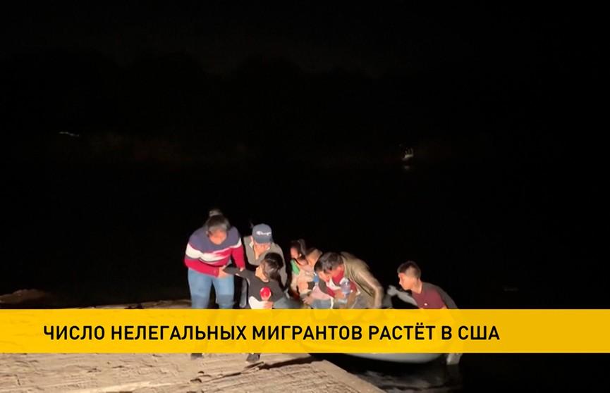 Более 200 тысяч мигрантов пытались перейти южную границу США