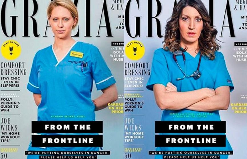 Обычные женщины-врачи впервые стали моделями на обложке глянцевого журнала
