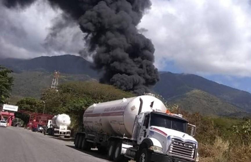 Взрыв на газонаполнительной станции в Венесуэле, есть жертвы