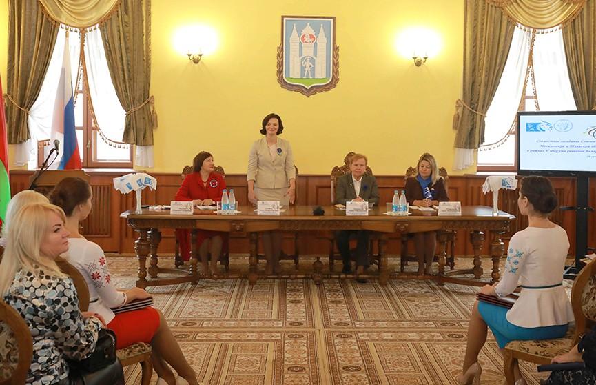 Союзы женщин Могилёвской и Тульской областей договорились о сотрудничестве