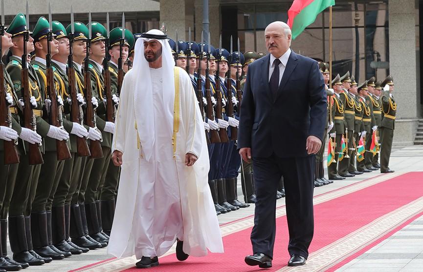 Лукашенко: Беларусь намерена развивать дружественные отношения с Объединенными Арабскими Эмиратами