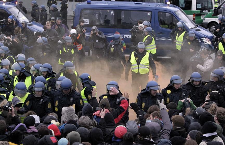 Датская полиция арестовала 23 человека в ходе беспорядков в Копенгагене