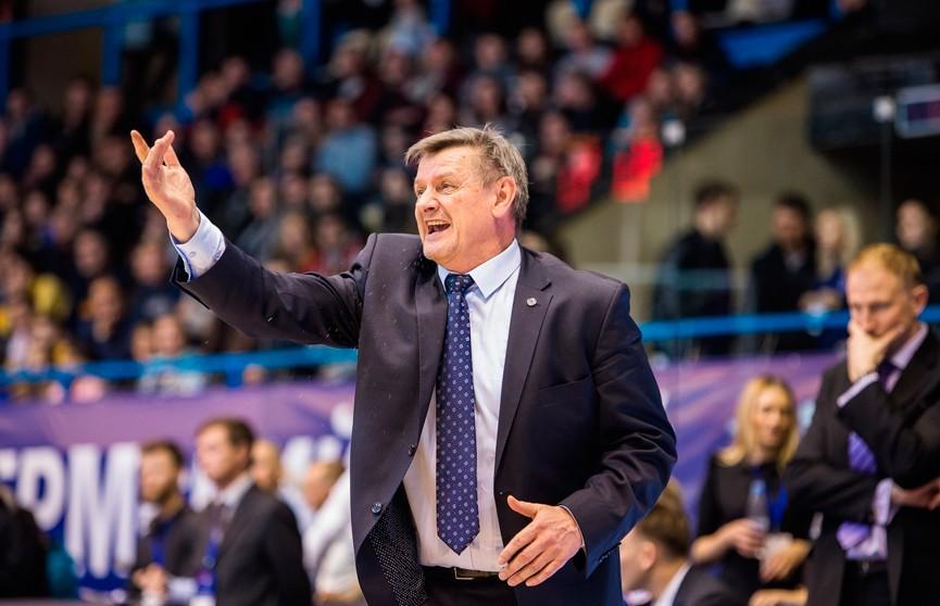 «Цмокi-Мiнск» отправил в отставку главного тренера Александра Крутикова и его помощника Егора Мещерякова