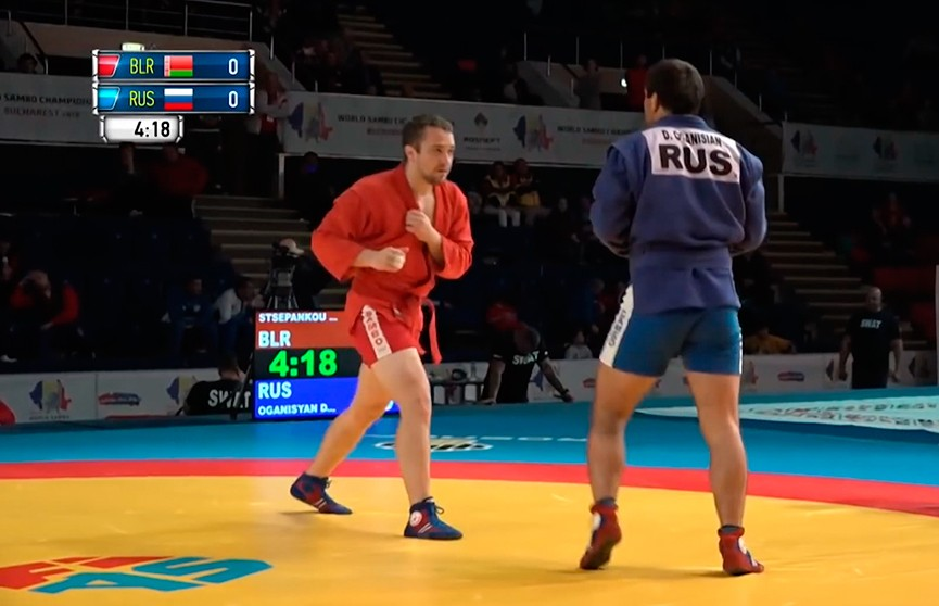 Белорусские самбисты завоевали восемь наград на чемпионате мира