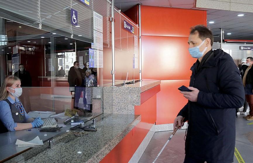 Система навигации для слабовидящих появилась на вокзале Минск-Пассажирский