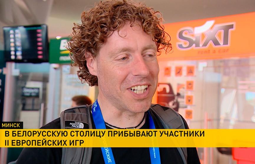 «Нас ждёт увлекательное зрелище!» В Минск прибывают зарубежные журналисты и участники II Европейских игр
