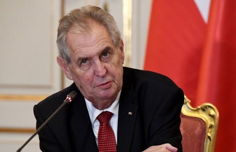 Президент Чехии госпитализирован