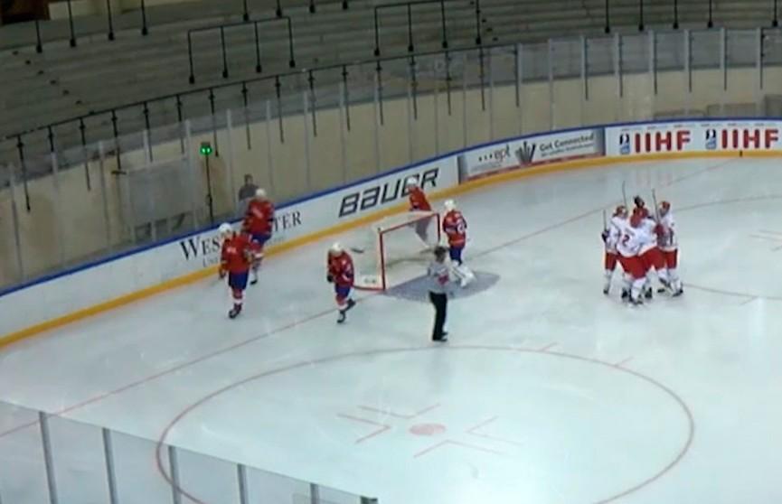 Белорусская «молодёжка» снова побеждает на хоккейном ЧМ в первом дивизионе