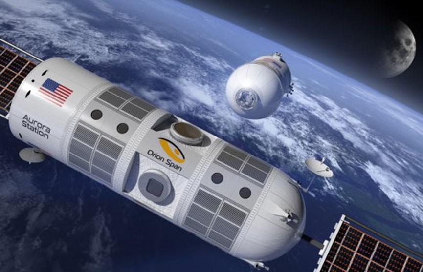 Космический отель хотят открыть на орбите Земли в 2021 году (Видео)