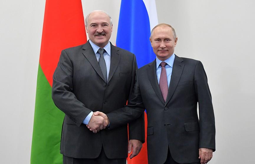Итоги первого дня белорусско-российских переговоров в Сочи