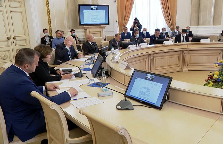В штаб-квартире Содружества Независимых Государств обсудили вопросы от региональной безопасности до развития экономики
