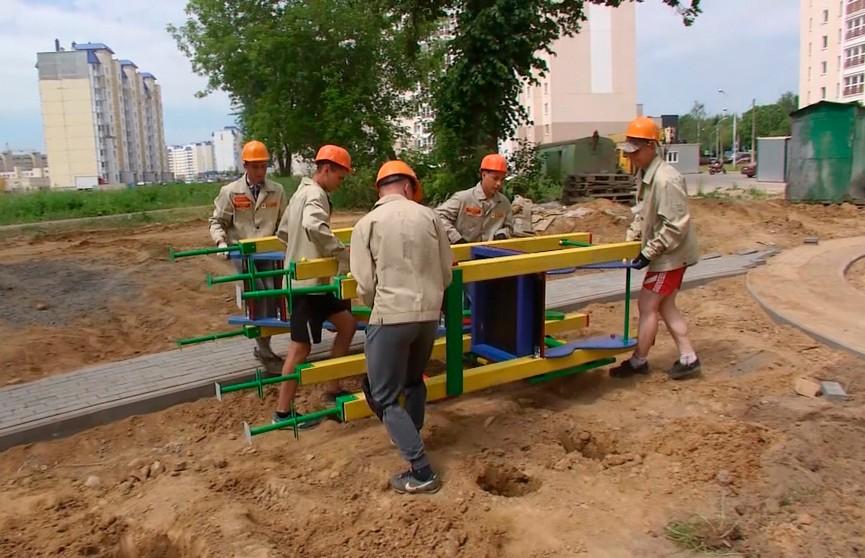 Белорусский студенческий стройотряд начал работу в Санкт-Петербурге