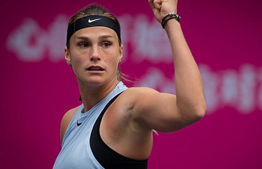 Теннис: Арина Соболенко поднялась в рейтинге WTA