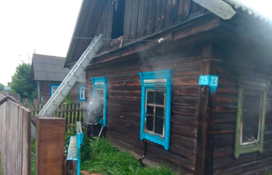 Пожар в Петриковском районе: погиб человек