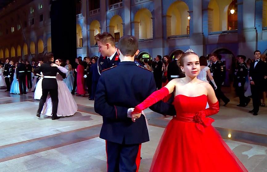 Белорусские кадеты приняли участие в Международном Кремлёвском бале