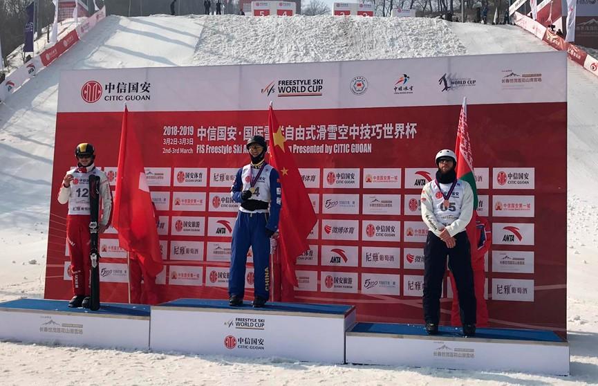 Антон Кушнир занял третье место на соревнованиях в Китае