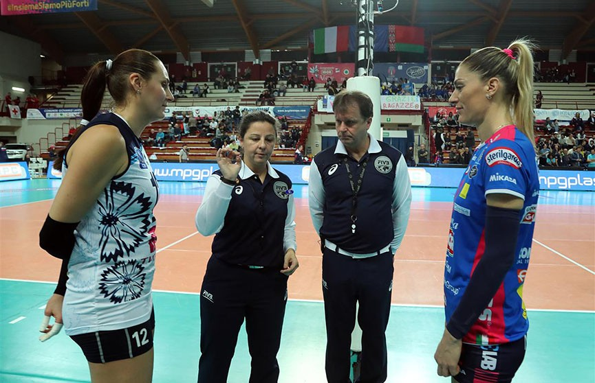 «Минчанка» продолжила неудачную серию в волейбольной Лиге чемпионов