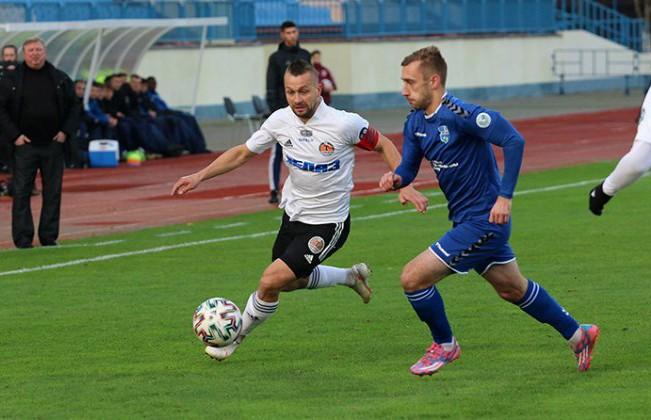 Футболисты «Торпедо-БелАЗ» обыграли «Слуцк» на домашнем стадионе