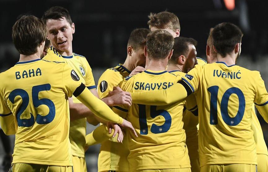 БАТЭ вышел в плей-офф Лиги Европы третий раз в истории