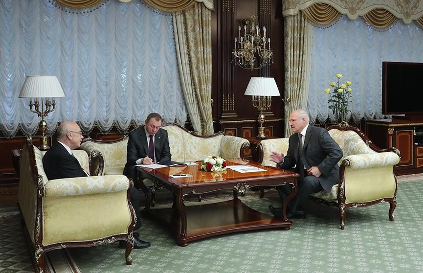 Александр Лукашенко встретился с заместителем генсекретаря ООН Владимиром Воронковым
