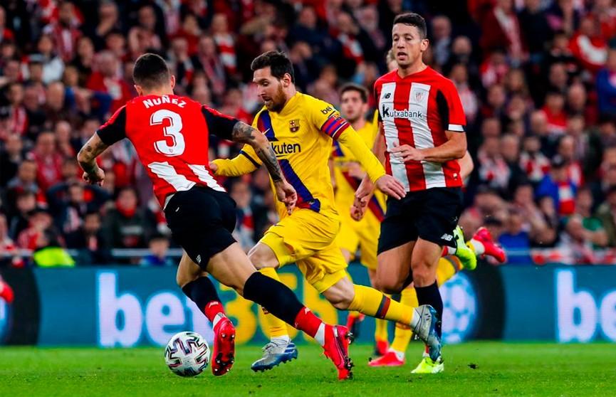 «Барселона» выбыла из Кубка Испании по футболу