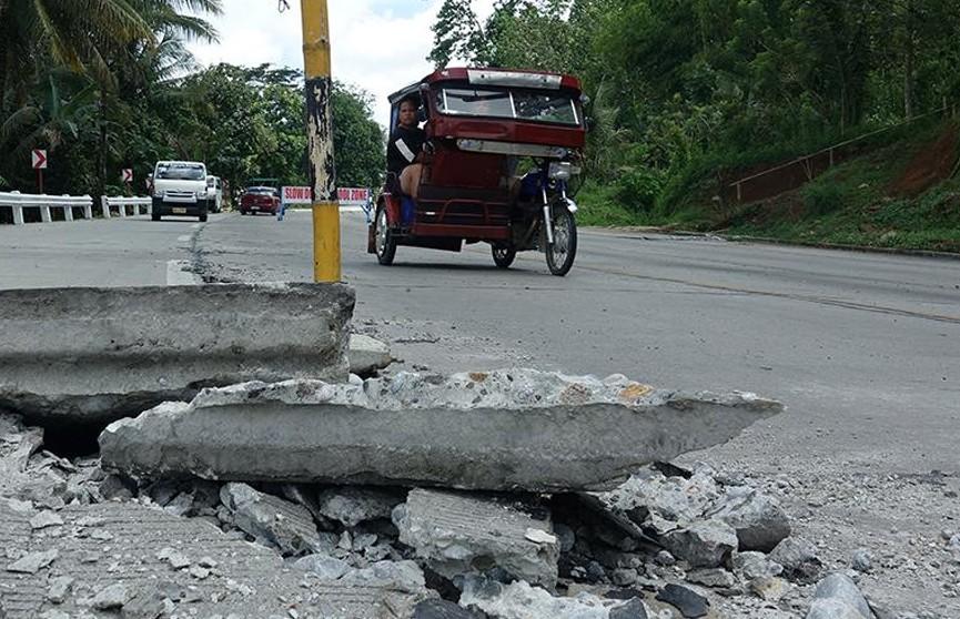 Землетрясение магнитудой 5,2 зафиксировано на Филиппинах