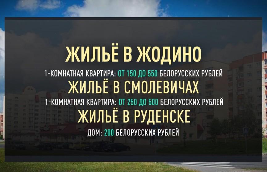 От 150 рублей. Сравниваем цены на аренду жилья в городах-спутниках – Жодино, Смолевичи, Руденск