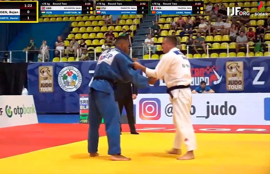 Две медали турнира Гран-при по дзюдо в Ташкенте у сборной Беларуси