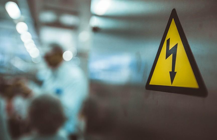 От удара током погиб рабочий в Могилёве