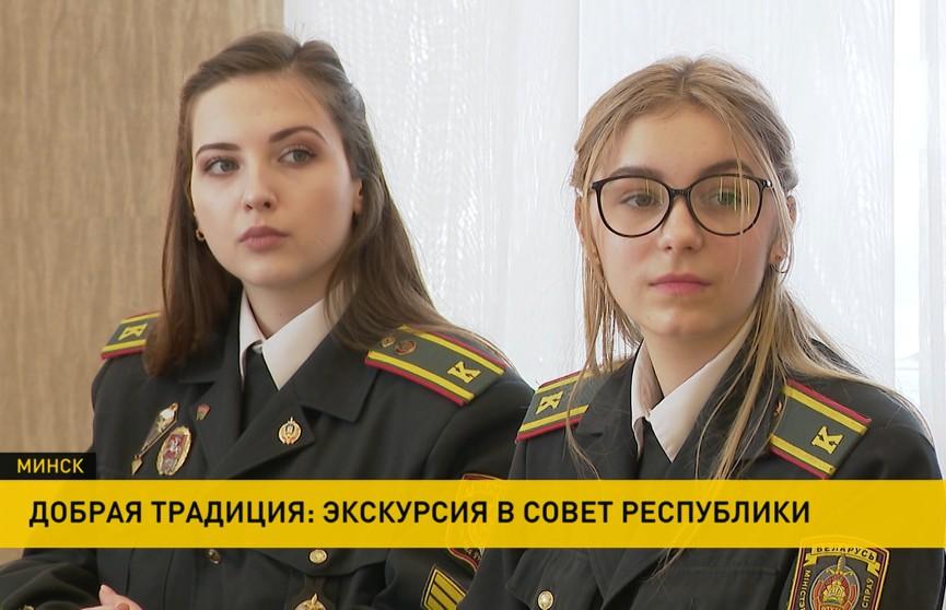 Наталья Кочанова встретилась с девушками-курсантами вузов МВД