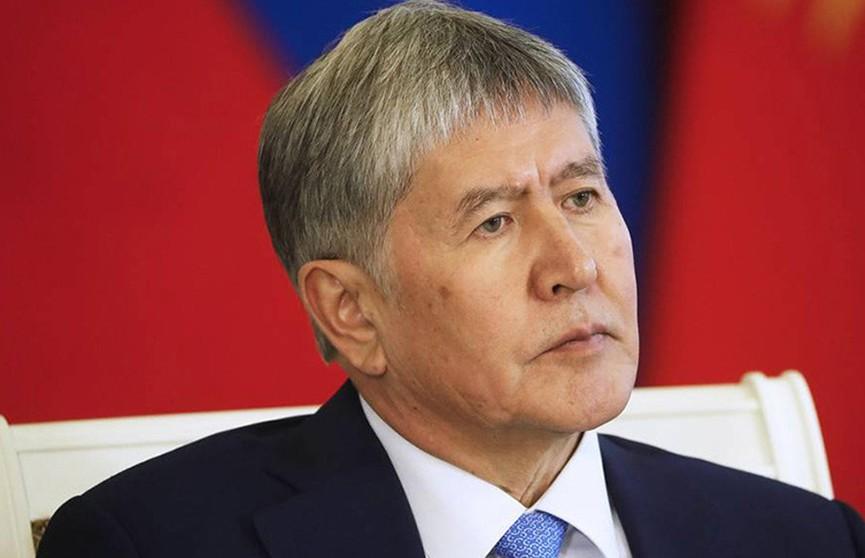 Экс-президента Кыргызстана Алмазбека Атамбаева задержали