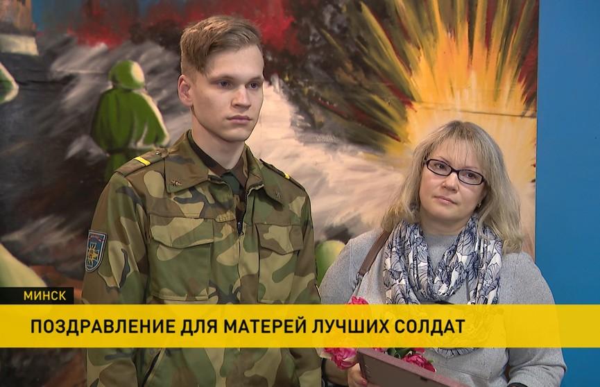 В 56-м отдельном полку связи поздравили матерей военнослужащих
