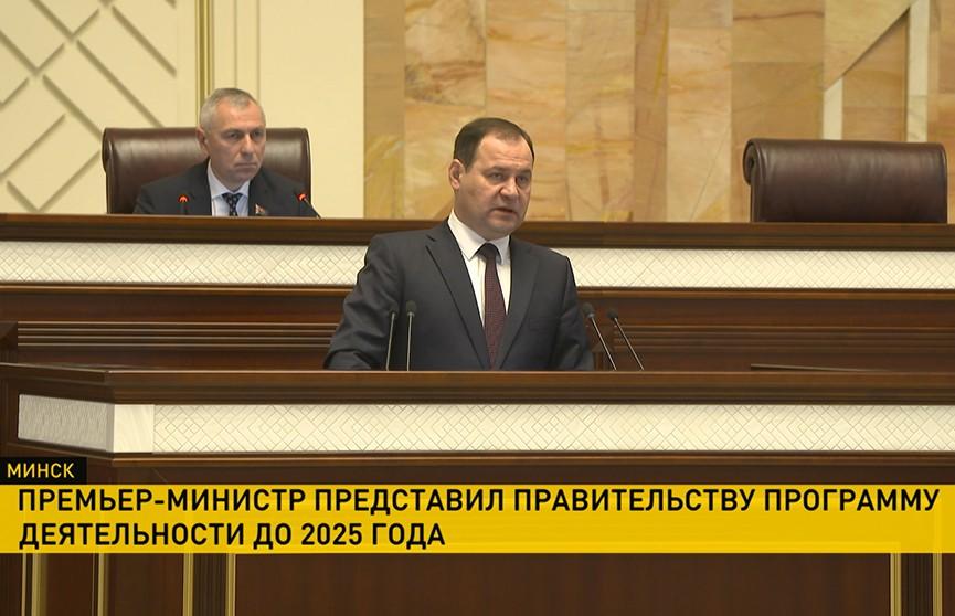 Программу деятельности правительства приняли депутаты: особое внимание – пенсионной системе