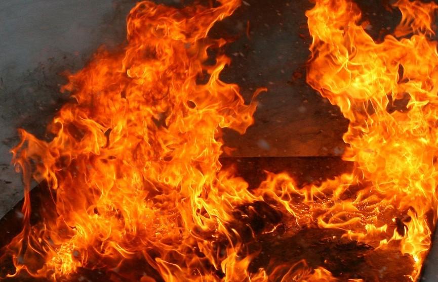 ЧП в Борисовском районе: на пожаре погибла женщина