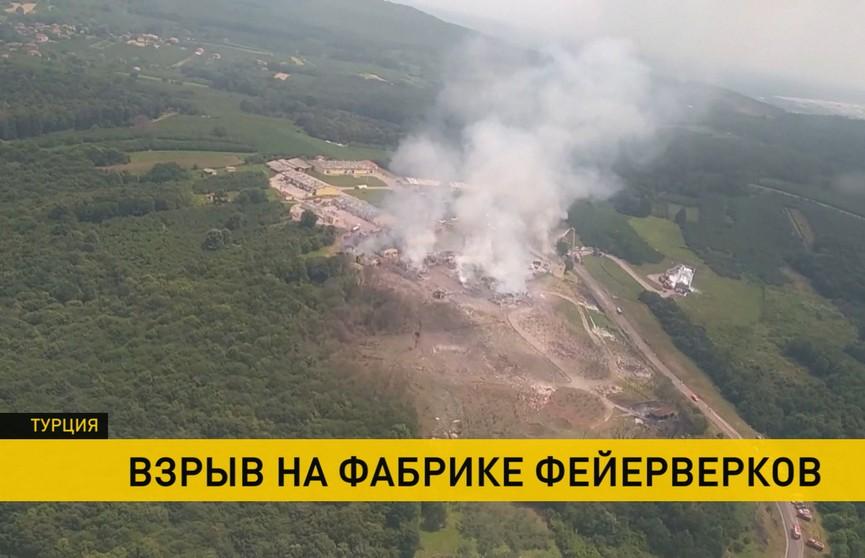 110 тонн фейерверков взорвались на фабрике в Турции: есть погибшие