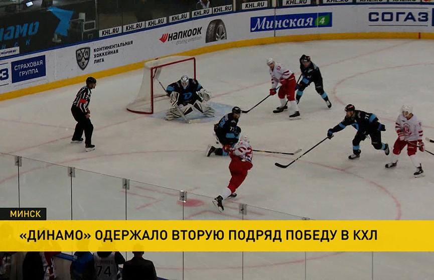 Минское «Динамо» обыграло «Витязь» в КХЛ