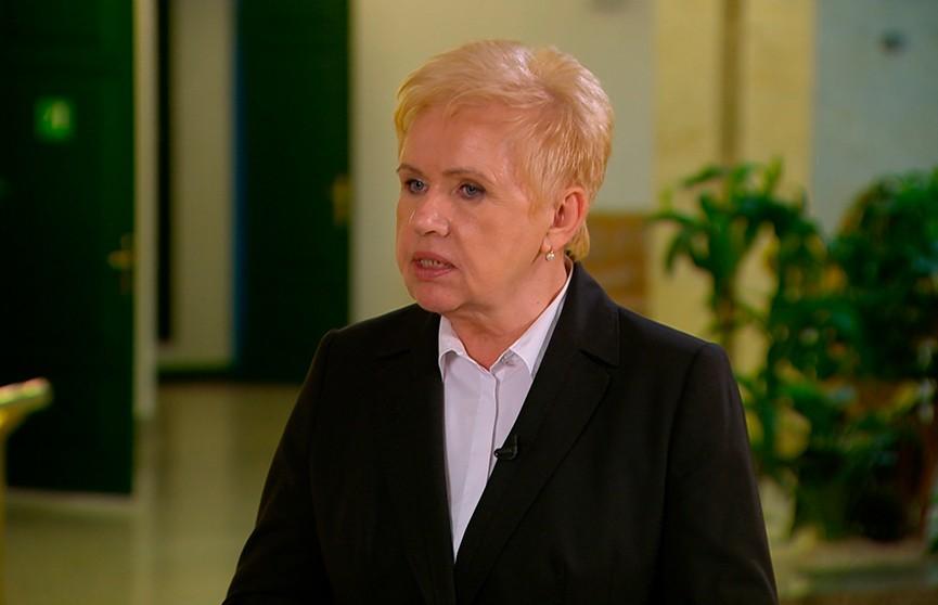 Лидия Ермошина о выборах:  Удовлетворена тем, как прошел основной день голосования