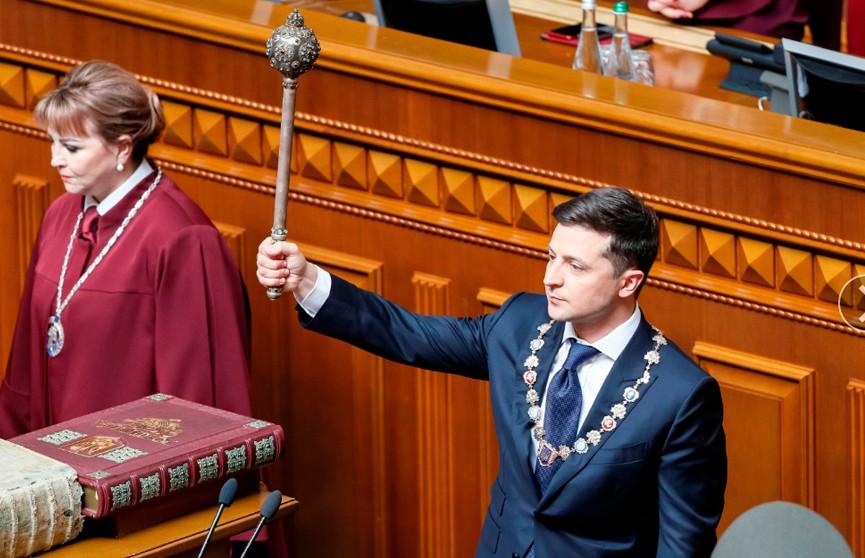 Первое решение Владимира Зеленского на посту президента: Я распускаю Верховную раду