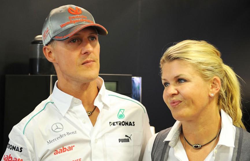 Жена Михаэля Шумахера рассказала о его состоянии здоровья