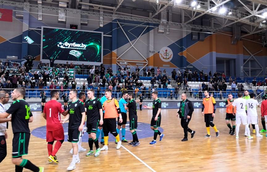 Мини-футбольный клуб «Столица» вышел в основной раунд Лиги чемпионов