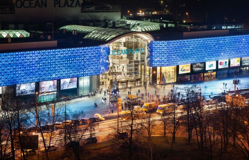 Крупный торговый центр Киева залило кипятком